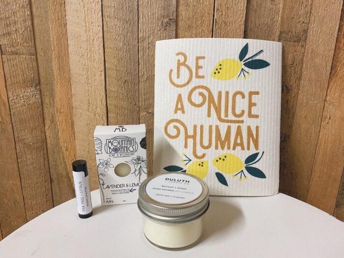 Be a nice human gift package